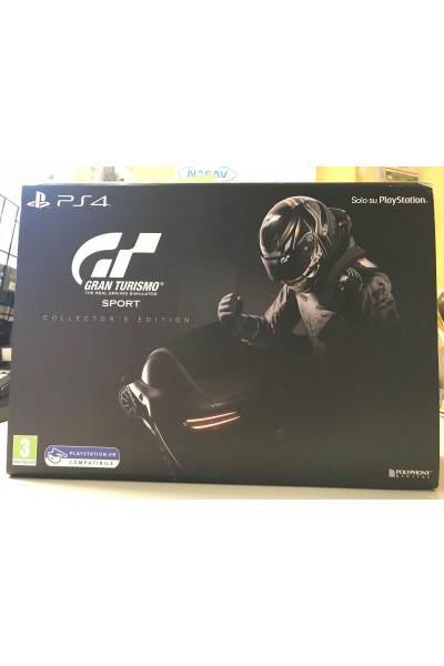 SONY PLAYSTATION 4 PS4 GT SPORT COLLECTOR'S EDITION NUOVA