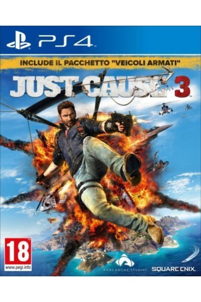 SONY PLAYSTATION 4 PS4 JUST CAUSE 3 PAL ITALIANO