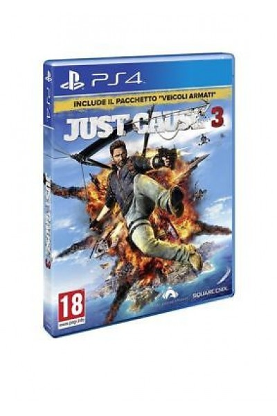 SONY PLAYSTATION 4 PS4 JUST CAUSE 3 PS4 PAL ITALIANO COMPLETO