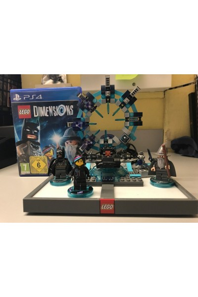 SONY PLAYSTATION 4 PS4 LEGO DIMENSIONS STARTER KIT SENZA SCATOLA
