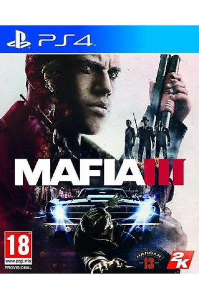 SONY PLAYSTATION 4 PS4 MAFIA III 3 PAL ITALIANO