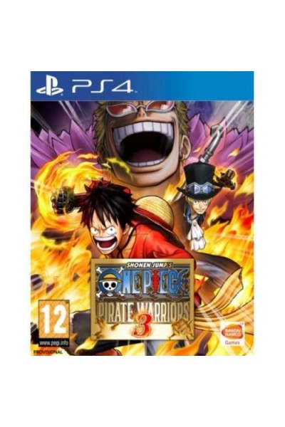 SONY PLAYSTATION 4 PS4 ONE PIECE PIRATE WARRIORS 3 PAL ITALIANO