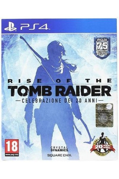 SONY PLAYSTATION 4 PS4 RISE OF THE TOMB RAIDER 20 ANNI PAL ITALIANO COMPLETO