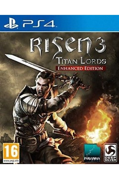 SONY PLAYSTATION 4 PS4 RISEN 3 TITAN LORDS ENHANCED EDITION PAL ITALIANO