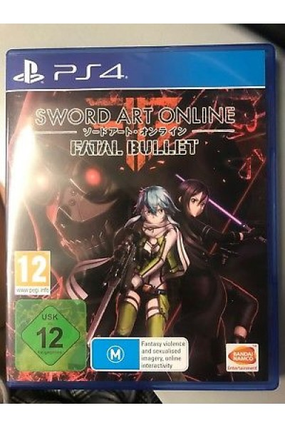 SONY PLAYSTATION 4 PS4 SWORD ART ONLINE FATAL BULLET PAL UK