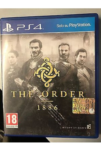 SONY PLAYSTATION 4 PS4 THE ORDER 1886 PAL ITALIANO COMPLETO