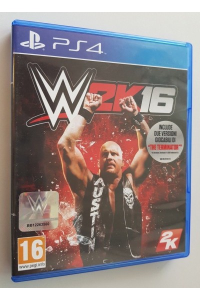 SONY PLAYSTATION 4 PS4 WWE 2K16 PAL ITALIANO