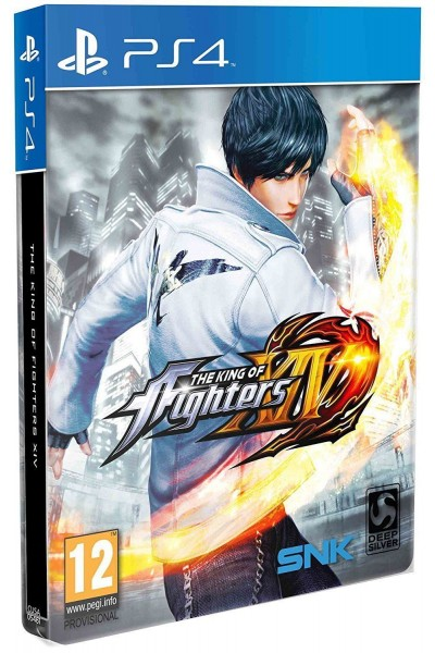 SONY PLAYSTATION 4 THE KING OF FIGHTERS XIV 14 PAL ITALIANO STEELBOOK @EB