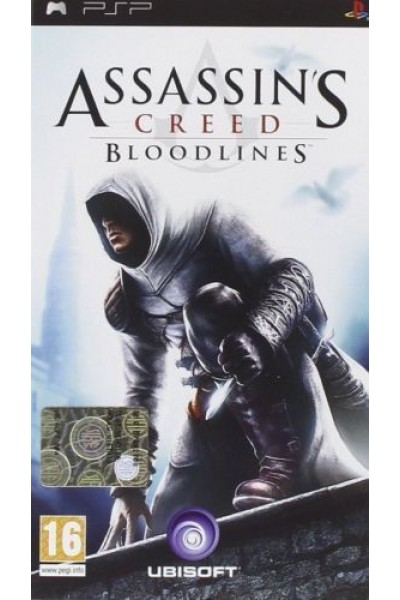 SONY PLAYSTATION PORTABLE PSP ASSASSIN'S CREED BLOODLINES PAL ITALIANO COMPLETO