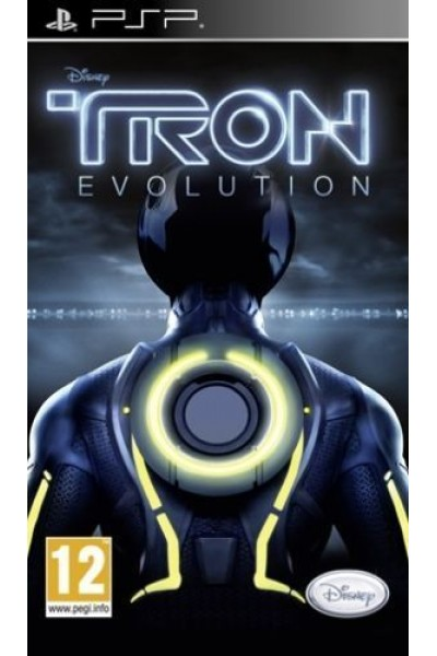 SONY PLAYSTATION PORTABLE PSP DISNEY TRON EVOLUTION PAL ITALIANO COMPLETO