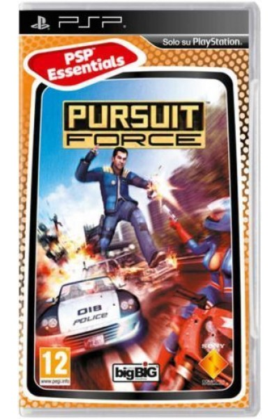 SONY PLAYSTATION PORTABLE PSP PURSUIT FORCE PAL ITALIANO COMPLETO