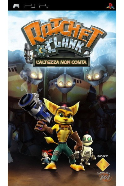 SONY PLAYSTATION PORTABLE PSP RATCHET & CLANK L'ALTEZZA NON CONTA ITA 1° STAMPA