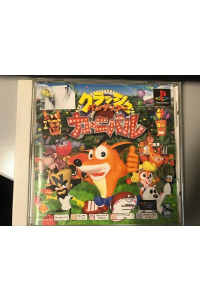 SONY PLAYSTATION PS1 CRASH BANDICOOT CARNIVAL NTSC JAP JPN COMPLETO