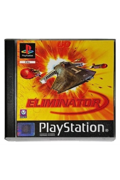 SONY PLAYSTATION PS1 ELIMINATOR VERSIONE PAL COMPLETO