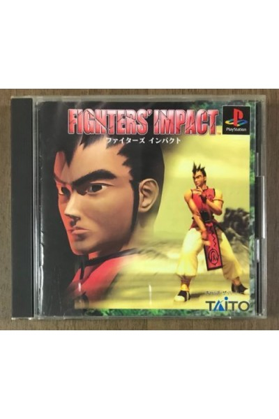 SONY PLAYSTATION PS1 FIGHTERS' IMPACT NTSC JAP JPN COMPLETO