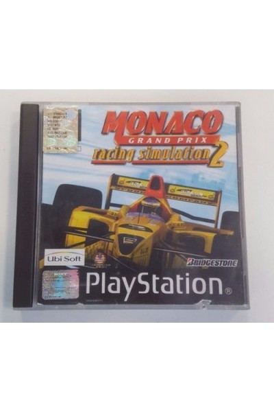 SONY PLAYSTATION PS1 MONACO RACING SIMULATOR 2 VERSIONE PAL COMPLETO