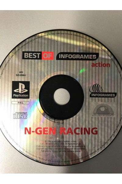 SONY PLAYSTATION PS1 N-GEN RACING PAL SOLO DISCO