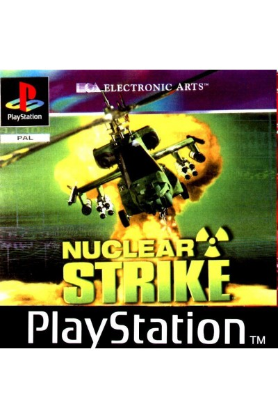 SONY PLAYSTATION PS1 NUCLEAR STRIKE PAL ITALIANO COMPLETO @EB