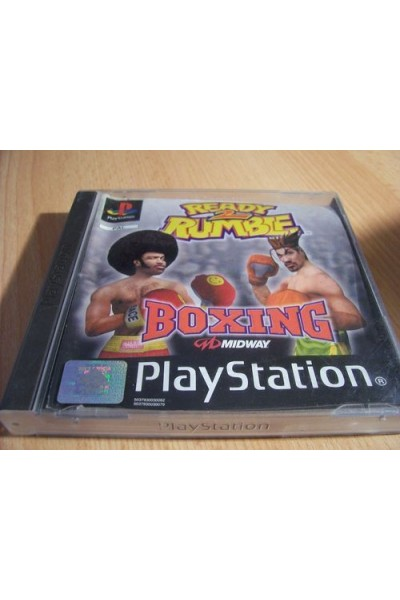 SONY PLAYSTATION PS1 READY 2 RUMBLE BOXING VERSIONE PAL COMPLETO
