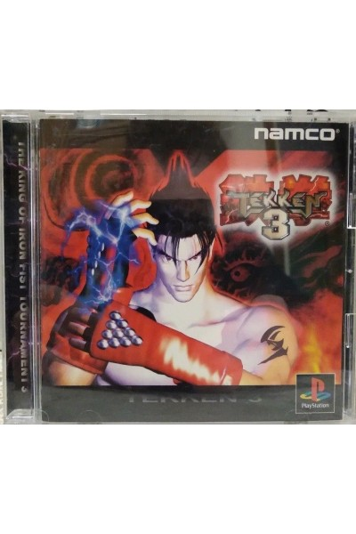 SONY PLAYSTATION PS1 TEKKEN 3 NTSC JAP JPN COMPLETO CON SPINE CARD