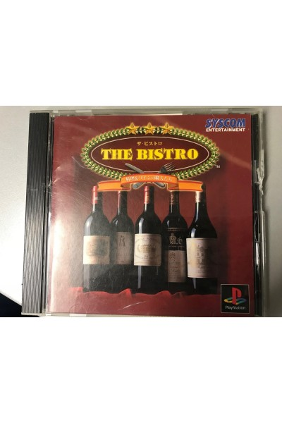 SONY PLAYSTATION PS1 THE BISTRO NTSC JAP JPN COMPLETO CON SPINE CARD