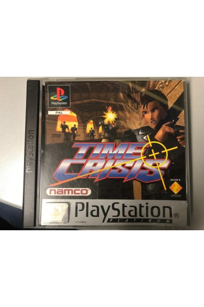 SONY PLAYSTATION PS1 TIME CRISIS PAL ITALIANO COMPLETO @EB