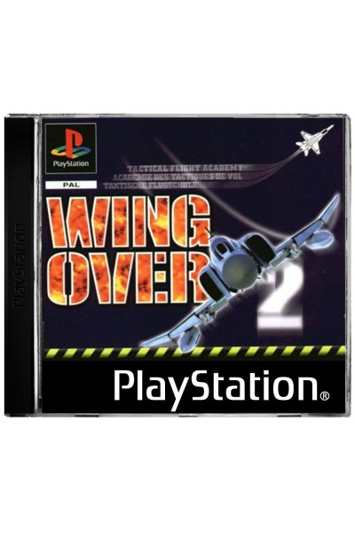 SONY PLAYSTATION PS1 WING OVER VERSIONE PAL COMPLETO