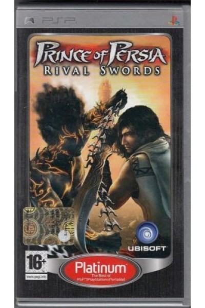 SONY PLAYSTATION PSP PRINCE OF PERSIA  RIVAL SWORD PAL ITALIANO COMPLETO