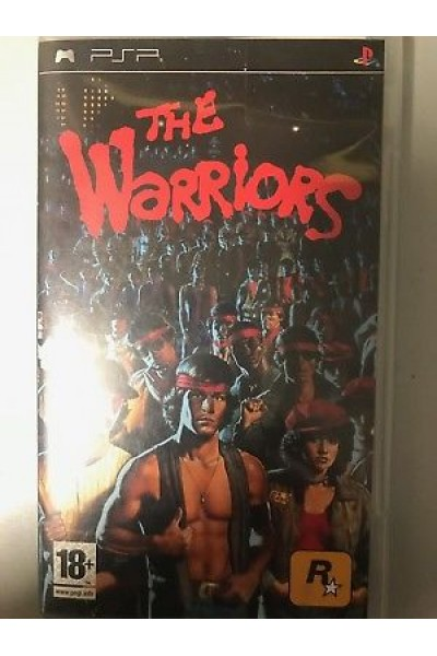 SONY PLAYSTATION PSP THE WARRIORS PAL FR COMPLETO