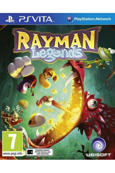 SONY PLAYSTATION VITA PS VITA RAYMAN LEGENDS PAL ITALIANO COMPLETO
