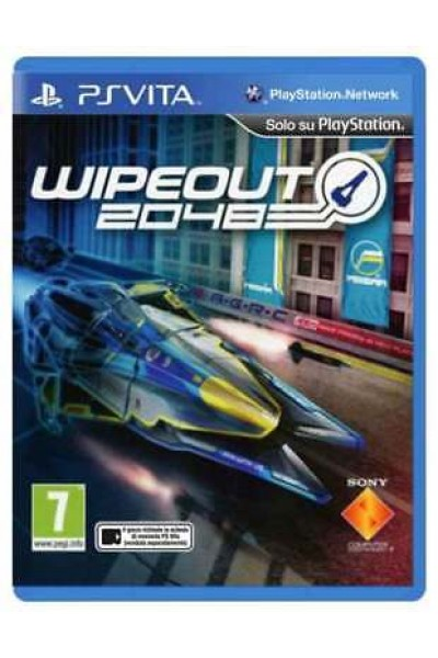 SONY PLAYSTATION VITA PS VITA WIPEOUT 2048 PAL ITALIANO COMPLETO