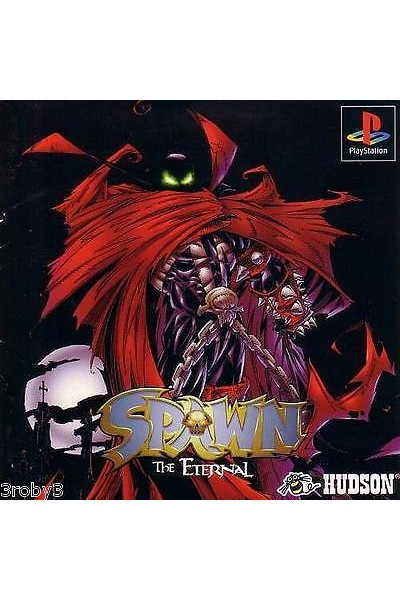 SONY PS1 SPAWN THE ETERNAL PS1 JAP JAPAN NTSC PLAYSTATION 1