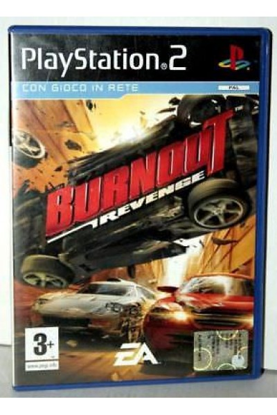SONY PS2  PLAYSTATION 2 BURNOUT REVENGE PAL ITALIANO COMPLETO