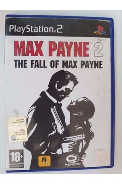 SONY PS2  PLAYSTATION 2 MAX PAYNE 2 THE FALL OF MAX PAYNE PAL ITALIANO COMPLETO