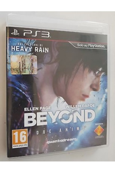 SONY PS3  PLAYSTATION 3 BEYOND PAL ITALIANO COMPLETO