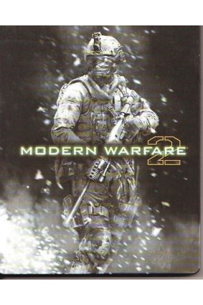 SONY PS3  PLAYSTATION 3 CALL OF DUTY MODERN WARFARE 2 STEELBOOK PAL COMPLETO