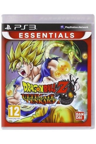 SONY PS3  PLAYSTATION 3 DRAGON BALL ULTIMATE TENKAICHI PAL ITALIANO COMPLETO