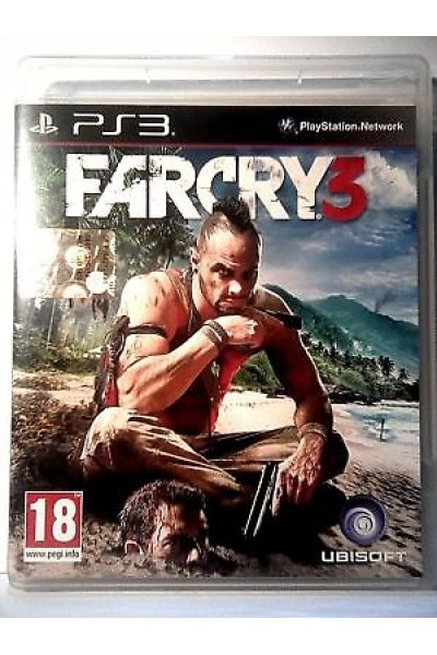 SONY PS3  PLAYSTATION 3 FAR CRY 3 PAL ITALIANO COMPLETO