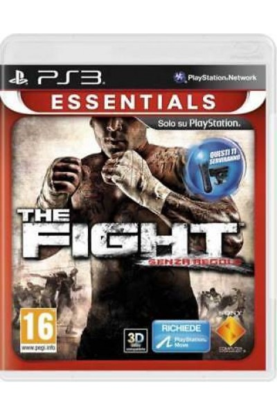 SONY PS3  PLAYSTATION 3 THE FIGHT SENZA REGOLE PAL ITALIANO COMPLETO