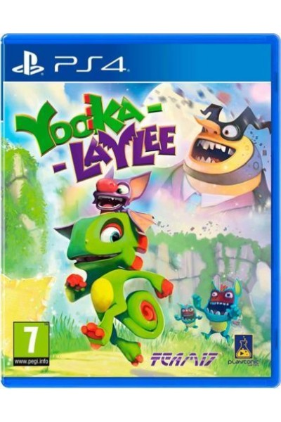 SONY PS4 PLAYSTATION 4 YOOKA LAYLEE PAL ITALIANO