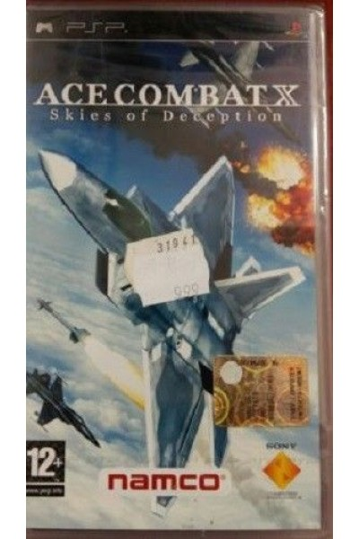 SONY PSP ACE COMBAT X SKIES OF DECEPTION PAL ITALIANO COMPLETO
