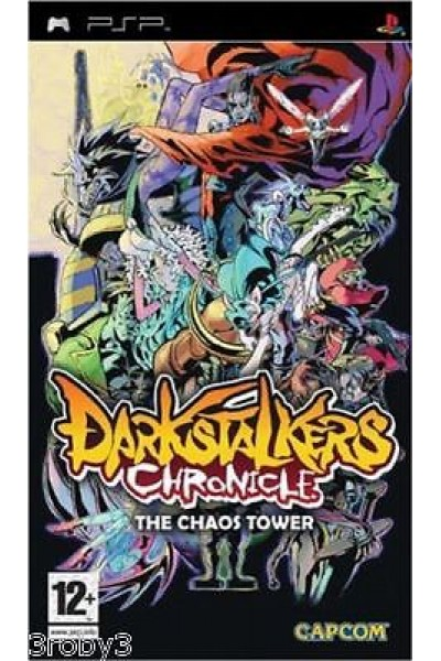 SONY PSP DARKASTALKERS CHRONICLE THE CHAOS TOWER NTSC USA COMPLETO