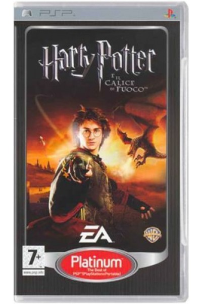 SONY PSP HARRY POTTER E IL CALICE DI FUOCO PAL ITALIANO COMPLETO
