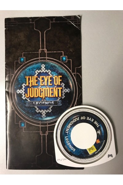 SONY PSP THE EYE OF JUDGMENT LEGENDS SOLO DISCO E MANUALE