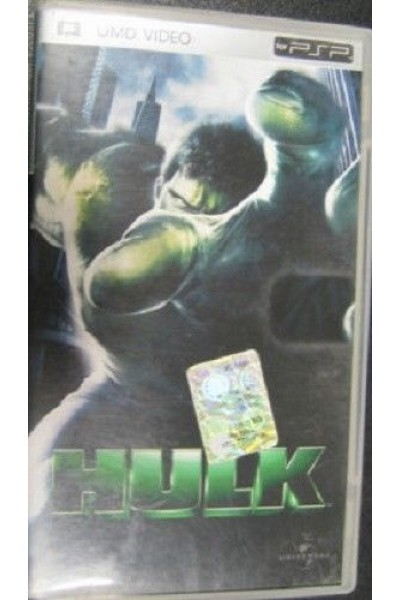 SONY PSP UMD VIDEO HULK ITALIANO