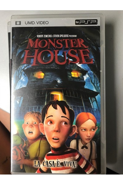 SONY PSP UMD VIDEO MONSTER HOUSE ITALIANO