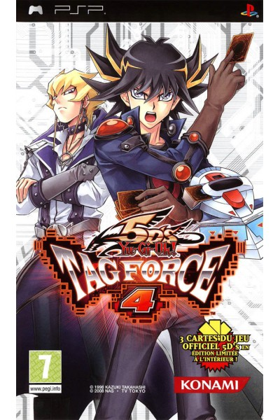 SONY PSP YU-GI-OH 5D' s TAG FORCE 4 PAL ITALIANO SENZA MANUALE E SENZA CARTE