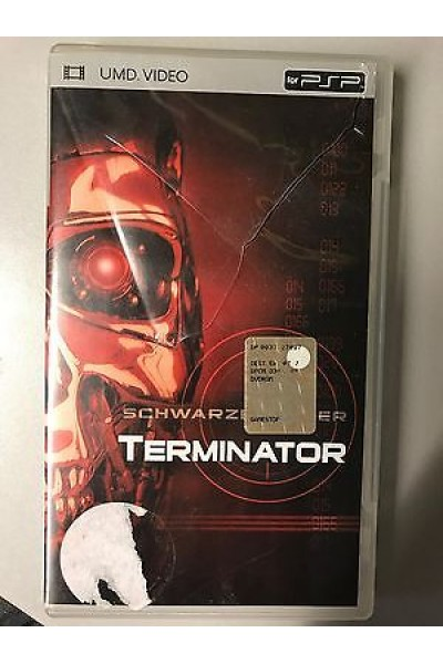 SONY UMD VIDEO MOVIE PER PSP TERMINATOR ITALIANO