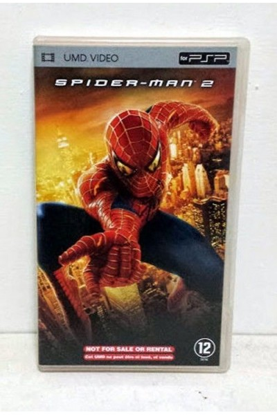 SPIDERMAN 2 UMD VIDEO PER PSP