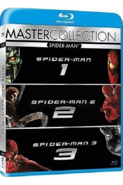 SPIDERMAN COLLECTION BLU RAY